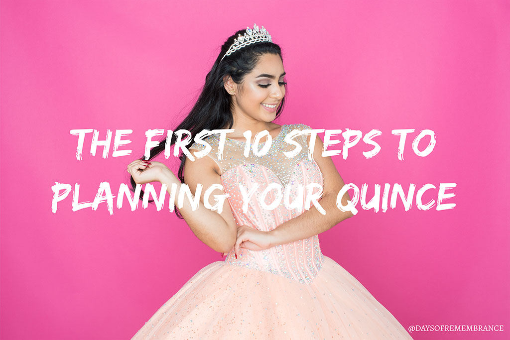 Follow these first 10 steps to have (somewhat) of a stress free Quince planning experience!