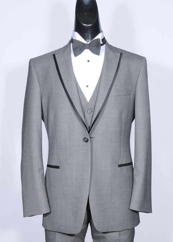The OB Shark Skin Gray - Slim Fit